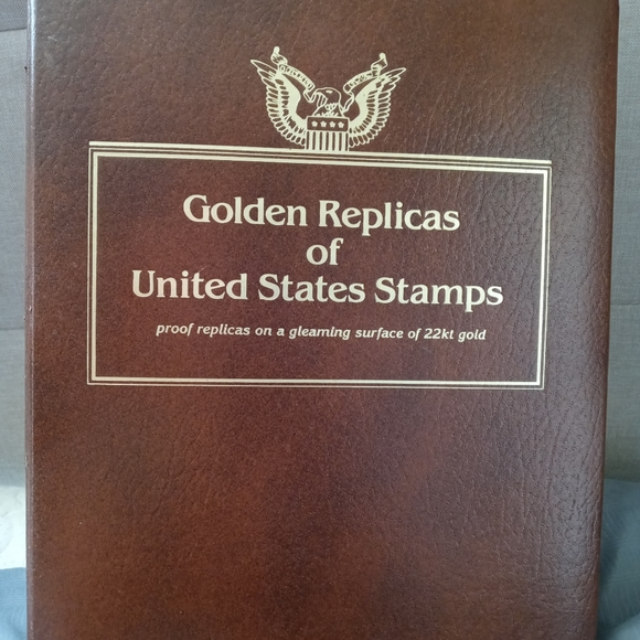 Other - Golden Replicas of United States Stamps